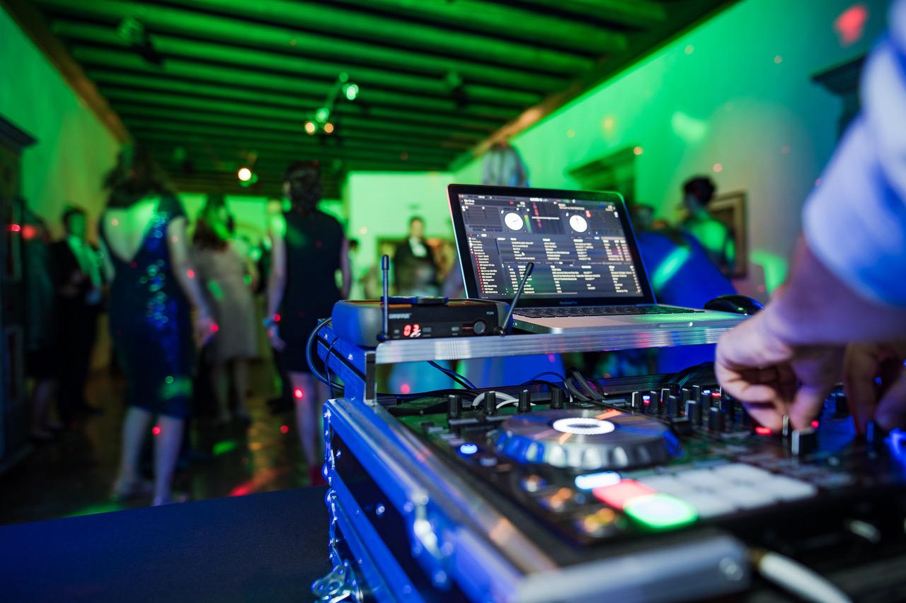deejay setup partys