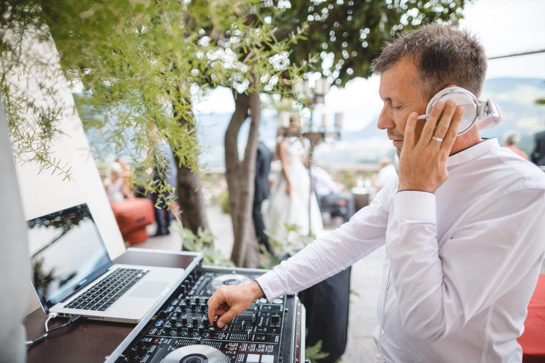 Hochzeit mit Sektempfang DJ Alex