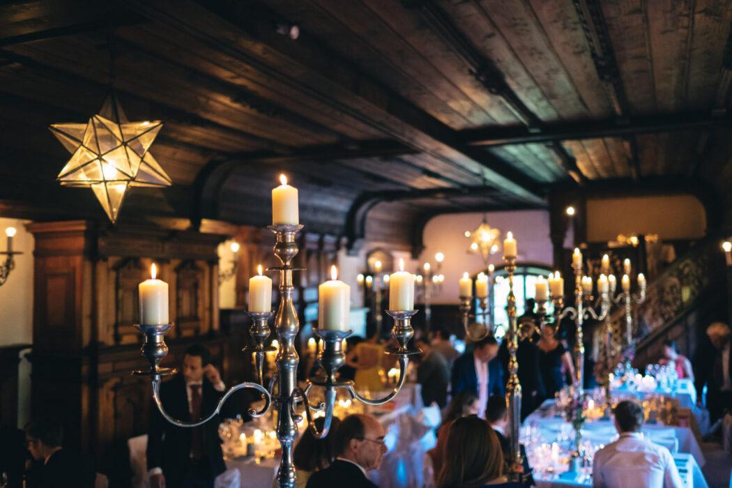 Prösels Castle Wedding Dinner