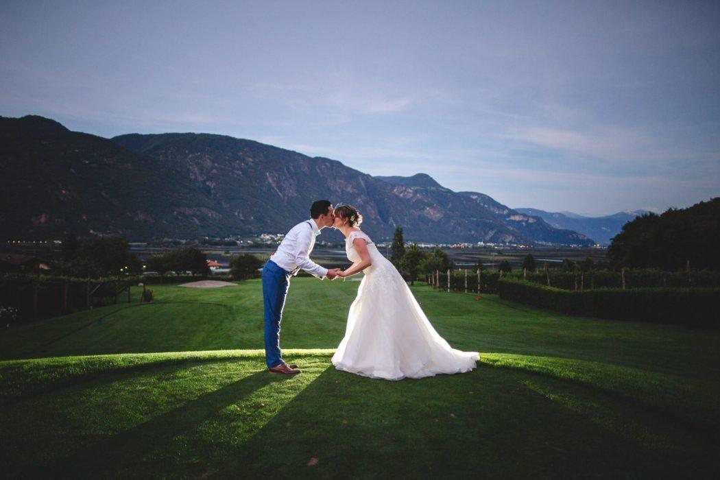 Gutshof Brautpaar