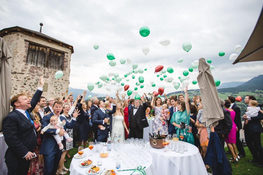 Wedding Aperitif Prösels Castle
