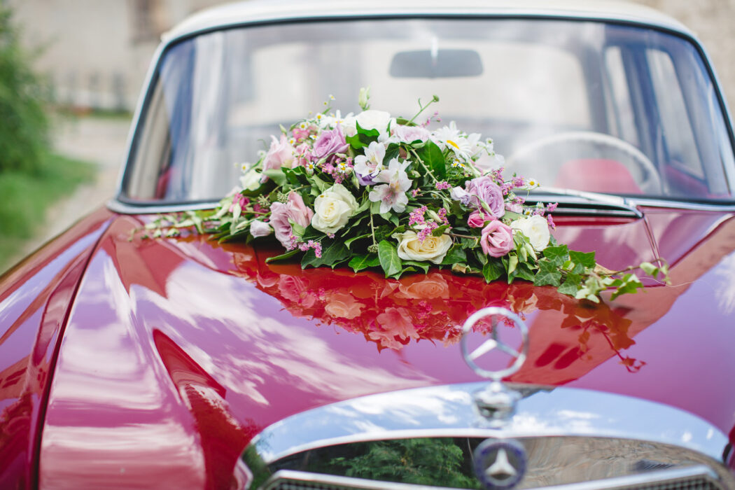 Hochzeit Brautauto