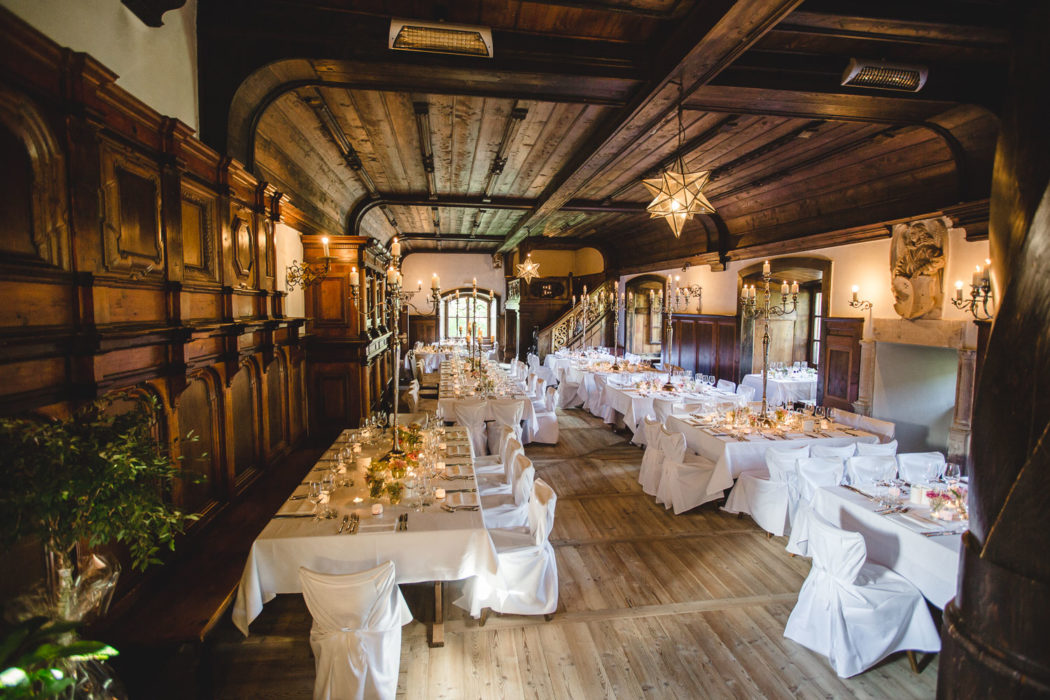 Wedding Prösels Castle Dinner