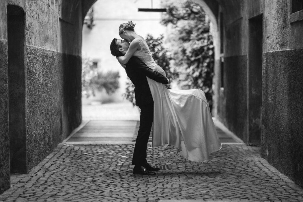 Brautpaar Hochzeit Schloss Prösels