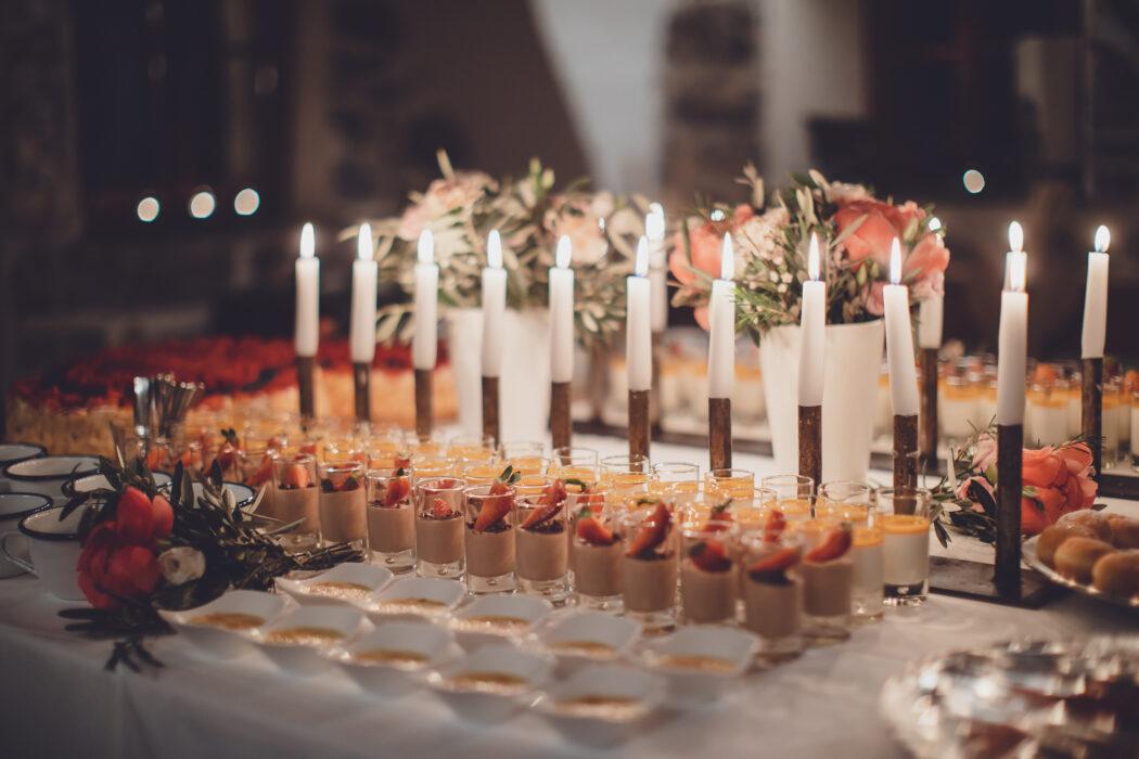 Wedding Dessert Hannah & Elia Catering