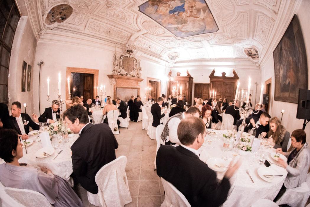 Hochzeit Dinner