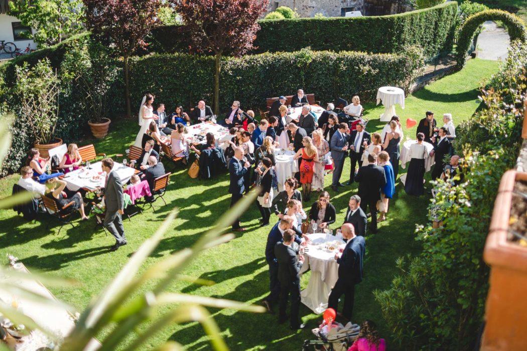 Wedding Aperitif Castel Katzenzungen
