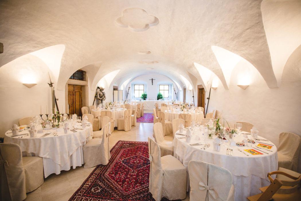 Wedding Dinner Castel Katzenzungen