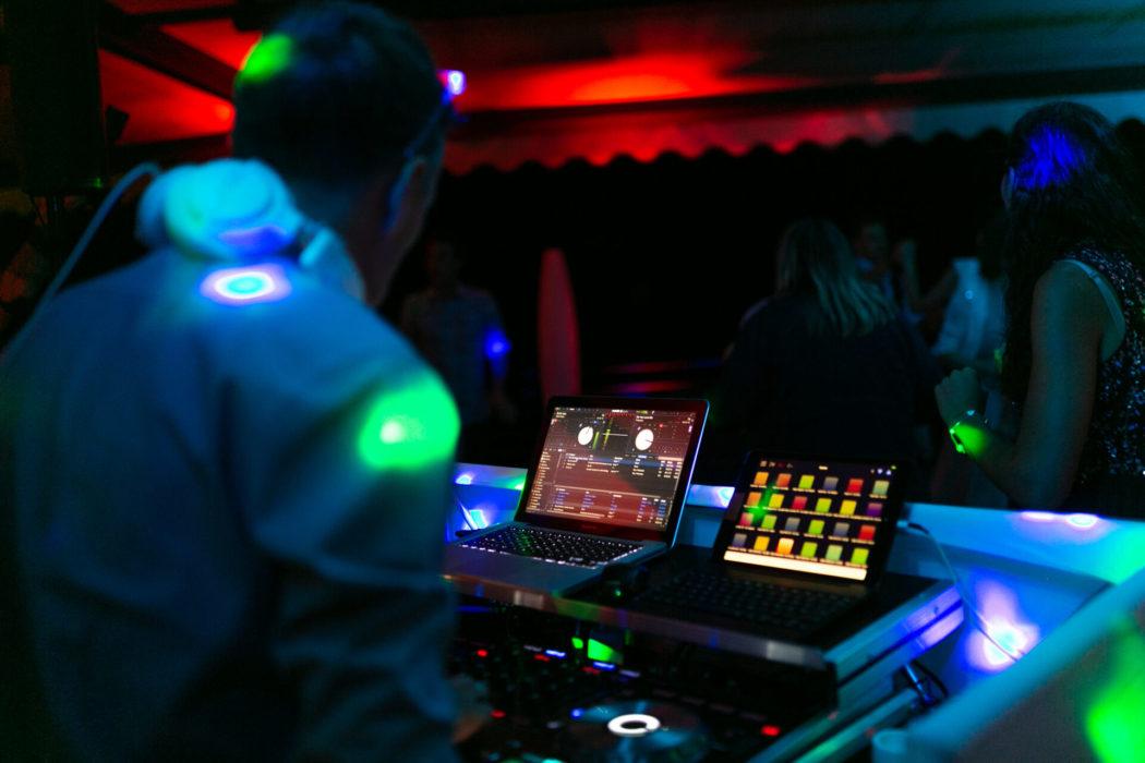DJ Setup DJ Alex Konsole